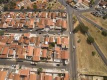 Stad av Botucatu i Sao Paulo, Brasilien Sydamerika arkivbilder