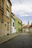 Stad av Bratislava, Slovakien Arkivbilder