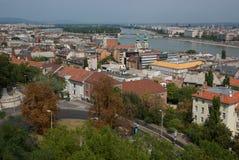 Stad av Budapest Arkivbilder