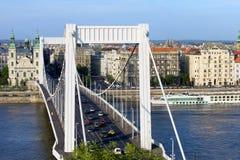 Stad av Budapest i Ungern Arkivfoton