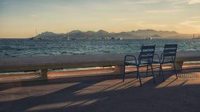 Stad av Cannes Arkivbilder