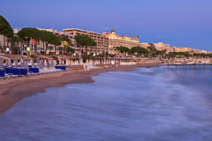 Stad av Cannes Royaltyfria Bilder
