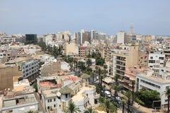 Stad av Casablanca, Marocko Royaltyfria Foton