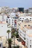 Stad av Casablanca, Marocko Arkivfoto