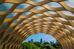 Stad av Chicago. Arkivbilder