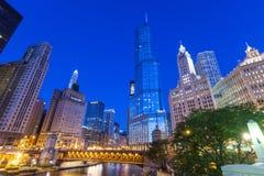 Stad av Chicago royaltyfria foton