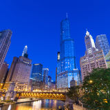Stad av Chicago Fotografering för Bildbyråer