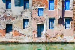 Stad av Chioggia, den lilla Venedig Royaltyfri Bild