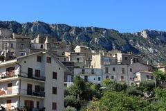 Stad av Civita Arkivfoto