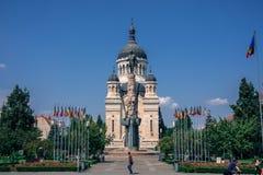 Stad av Cluj-Napoca - europeisk loppdestination fotografering för bildbyråer