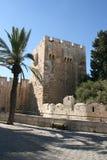 Stad av David i Jerusalem, Israel Arkivbild