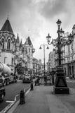 Stad av den London gatasikten - LONDON - STORBRITANNIEN - SEPTEMBER 19, 2016 Fotografering för Bildbyråer