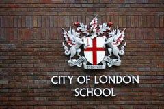 Stad av den London skolan Arkivbild