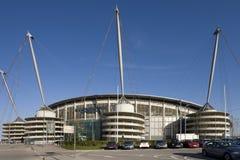 Stad av den Manchester stadionen - England Royaltyfri Bild
