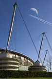Stad av den Manchester stadionen - Manchester - England Royaltyfri Fotografi