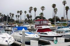 Stad av den Oxnard marina arkivfoton