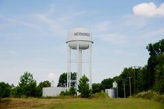 Stad av det Hernando vattentornet, Hernando, Mississippi Royaltyfri Fotografi