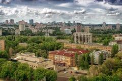 Stad av Donetsk, Ukraina royaltyfri fotografi