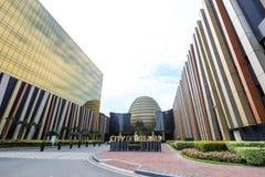 Stad av drömmar i Manila Arkivfoto