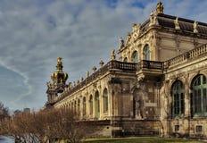 Stad av Dresden saxony germany Mitt av den gamla staden royaltyfri foto