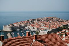 Stad av Dubrovnik, Kroatien Royaltyfria Bilder