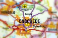 Stad av Enschede - Nederländerna Arkivbild