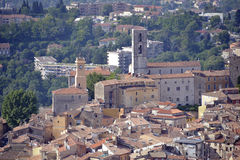 Stad av Grasse i Frankrike Royaltyfri Bild