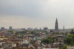Stad av Groningen Arkivbilder