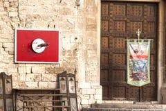 Stad av gubbioen umbria Italien Arkivfoto