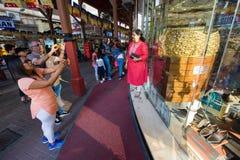 Stad av guld i Dubai Fotografering för Bildbyråer