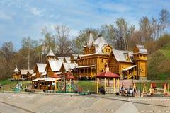 Stad av hantverkare i Gorodets royaltyfria bilder
