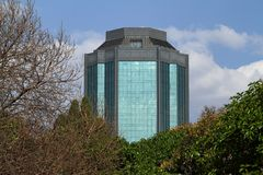 Stad av Harare i Zimbabwe royaltyfri foto