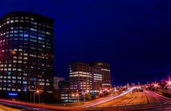 Stad av Hartford Connecticut Arkivfoto