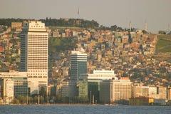 stad av Izmir Arkivbild