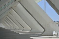 Stad av konster och Sciencies, Valencia Spain Arkivfoton
