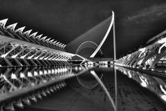 Stad av konster och vetenskap Fotografering för Bildbyråer