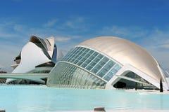 Stad av konster och vetenskaper i Valencia Royaltyfria Bilder
