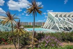 Stad av konster och vetenskaper, Valencia royaltyfri bild