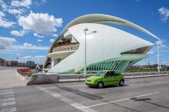 Stad av konster och vetenskaper, Valencia arkivfoto