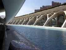 Stad av konster och vetenskaper, Valencia arkivbilder