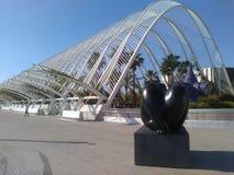 Stad av konster och vetenskaper Valencia Spain Arkivfoto