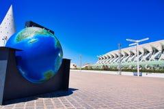 Stad av konster och vetenskaper, Valencia, Spanien royaltyfria bilder