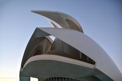 Stad av konster och vetenskapsmuseum i Valencia royaltyfria foton