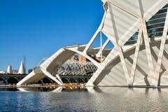 Stad av konster och vetenskapsmuseum i Valencia arkivfoto