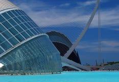 Stad av konsterna och vetenskaperna av Valencia Royaltyfri Bild