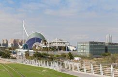 Stad av konsterna och vetenskaperna Valencia, Spanien Royaltyfria Foton
