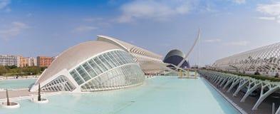Stad av konsterna och vetenskaperna, Valencia, Spanien Royaltyfria Foton