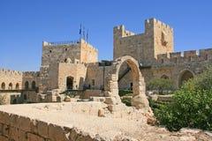 Stad av konungen David, Jerusalem, Israel Arkivbilder