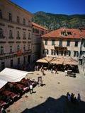 Stad av Kotor Arkivbilder