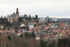 Stad av Kronberg Fotografering för Bildbyråer